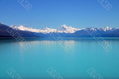 Breathtaking mountain lake.