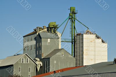 grain elevator and out buildings