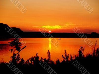 Minnesota Summer Sunset