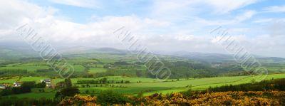 Ireland Panoramic Shot