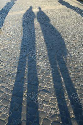 Men shadows