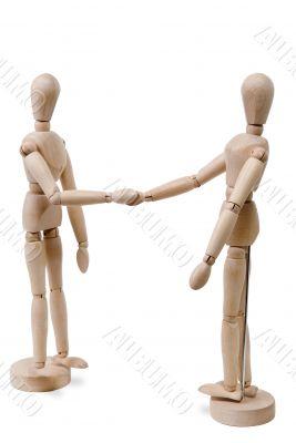 Hand Shake Figures