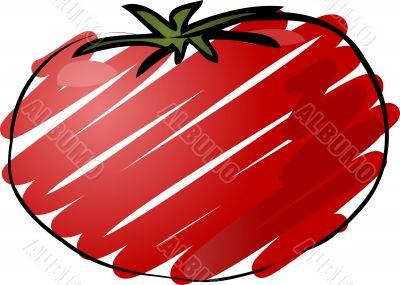 Tomato sketch
