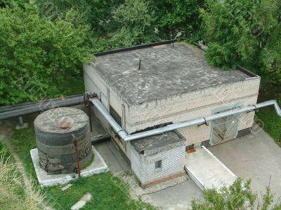 The thrown boiler room