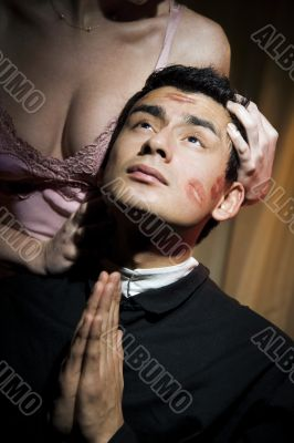 Tempted priest