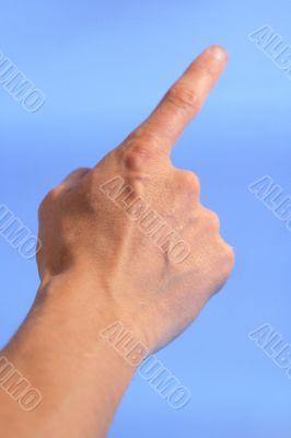 1 fingers