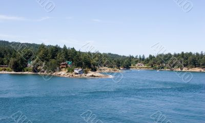 Gulf Islands Idyllic coastline