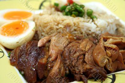 Stewed pork chinese