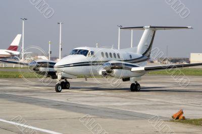 An executive aircraft