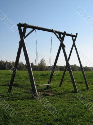 swing in the field