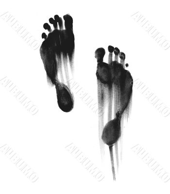 Drag foot steps