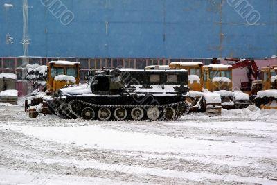 transport in a winter season