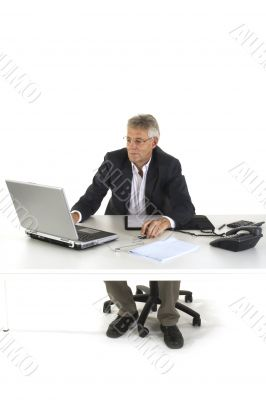 Senior CEO at the office