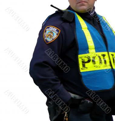 Policeman in Uniform