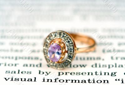 Open page and rings