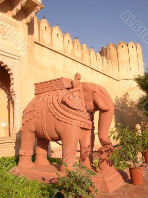 Elephant indian sculpture