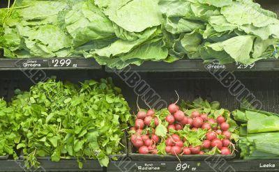 Greens in Market