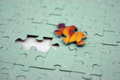 Jigsaw - Color Bit (Shallow DOF)