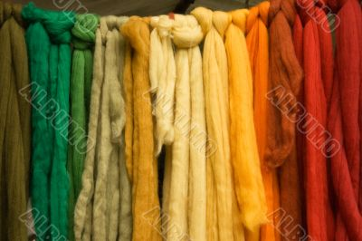 Coloured Wool Belts