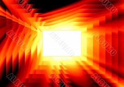 Fiery infinity