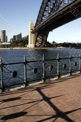 Path At The Sydney Harbour Bridge