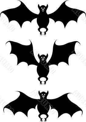 Bat. A contour.