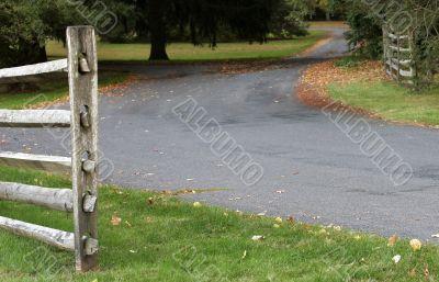 Along a Country Lane