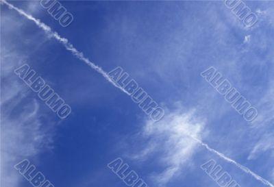 Diagonal Sky
