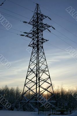 Line of electricity