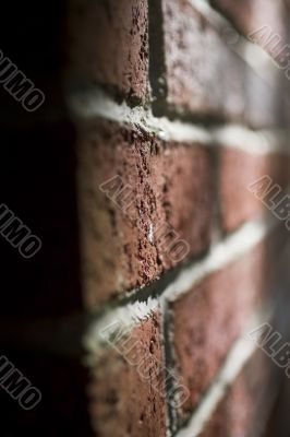 brick chimney in sunlight