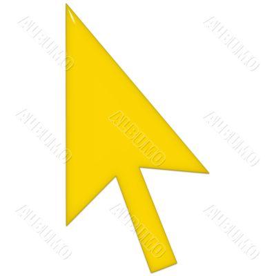 Yellow Glass Pointer