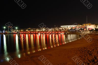 Cannes festival by night