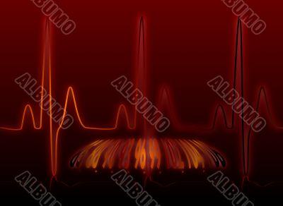 heartbeat glow warm