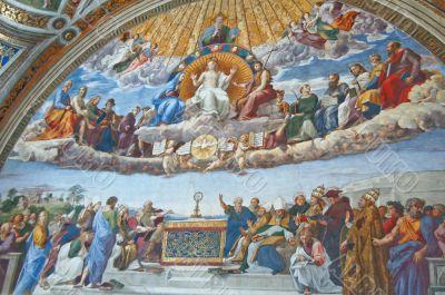 Disputation over the Most Holy Sacrament