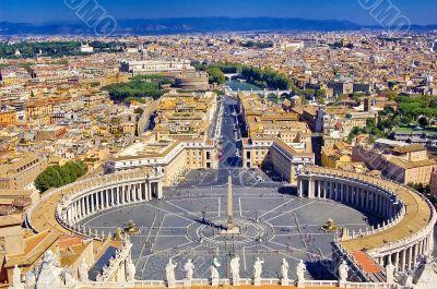 St. Peter`s Square, Vatican City