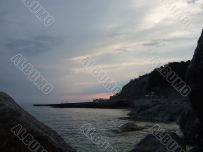 Twilight at the sea 2