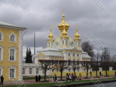 traveling in Peterburg