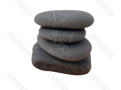 pile of grey stones