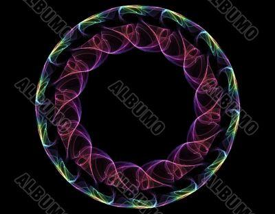 Swirly circle