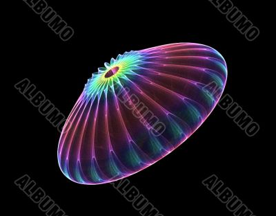 abstract jellyfish or UFO