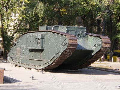 The First English tank
