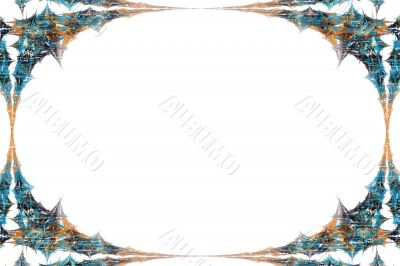 Border/Business Graphic - Grunge Autumn Tones