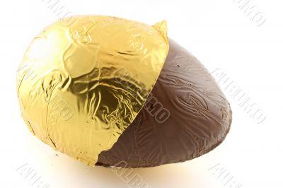 Easter Egg with foil back