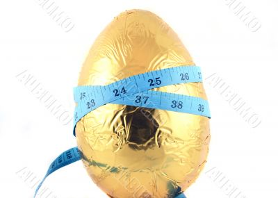 Easter Egg with Tape Measure 2