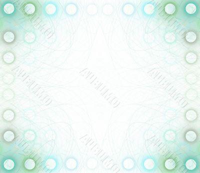 Border/Business Graphic - Blue Circles
