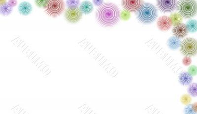 Border/Business Graphic - Right hand Border of Swirls