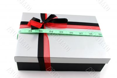 Chocolate Box with tape measure