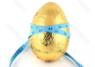 Easter Egg with Tape Measure