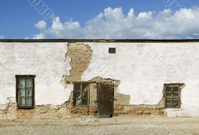 Abandoned Adobe Building
