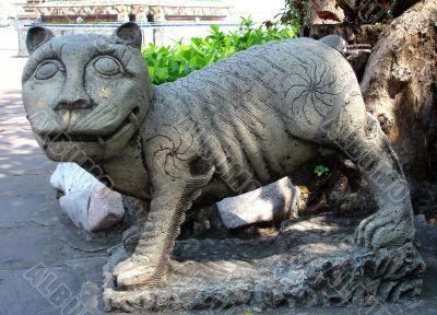 Mythic stone animal